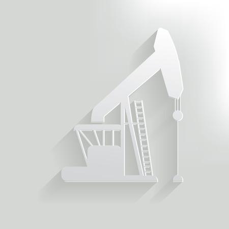 industria petrolera: Sector de Petr�leo, vector limpia