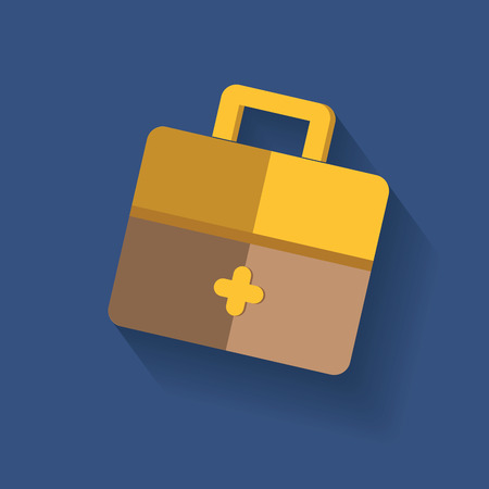 attache: Bag symbol,clean vector Illustration