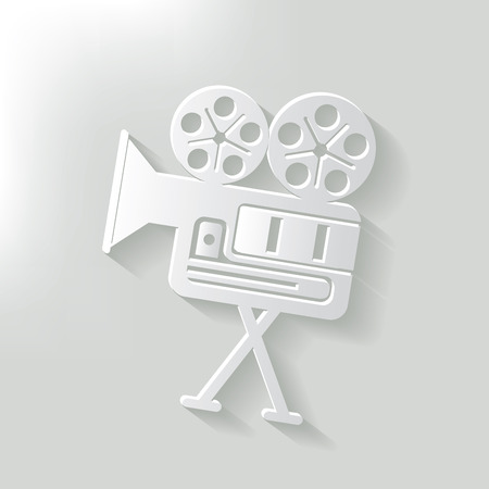 Movie,clean vector Vector