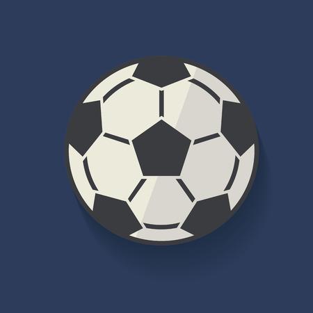 dropshadow: Football symbol,clean vector