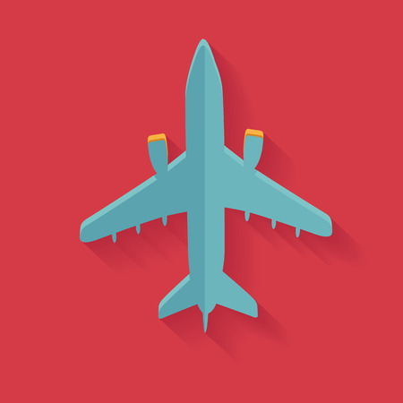 undercarriage: Airplane symbol,clean vector