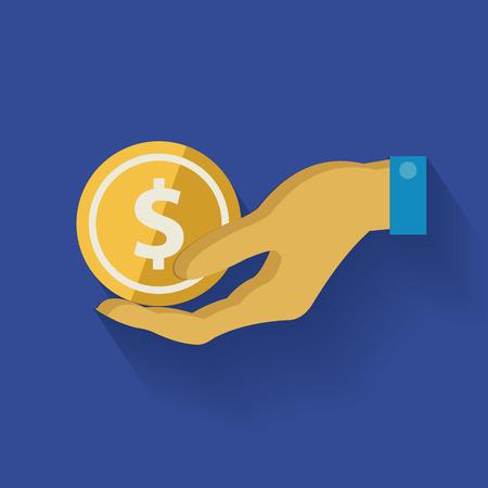 monet: Money symbol,clean vector