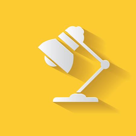adjustable: Lamp symbol,clean vector