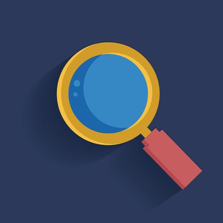 inet: Zoom symbol,clean vector