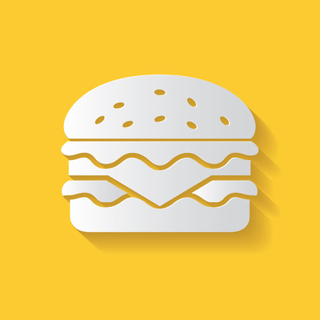 Hamburger symbol Illustration