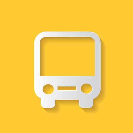 Bus symbol Vector