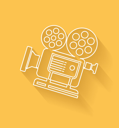 Movie symbol Vector