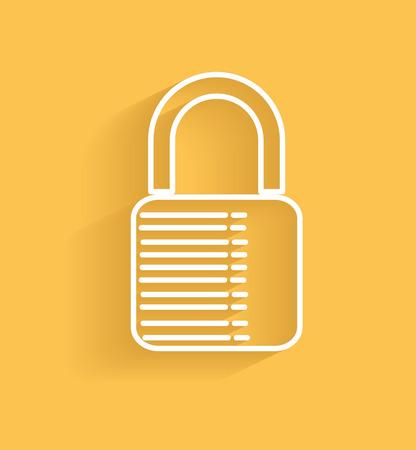 lock symbol: Lock symbol
