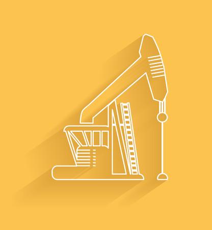 industria petrolera: S�mbolo de la industria de petr�leo Vectores