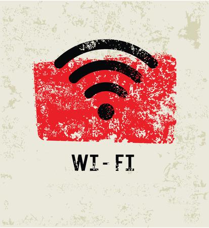 boardcast:  grunge symbol