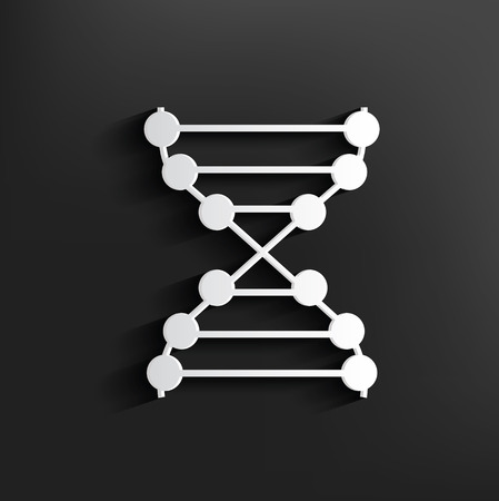 enzyme: Enzyme symbol on background,clean vector