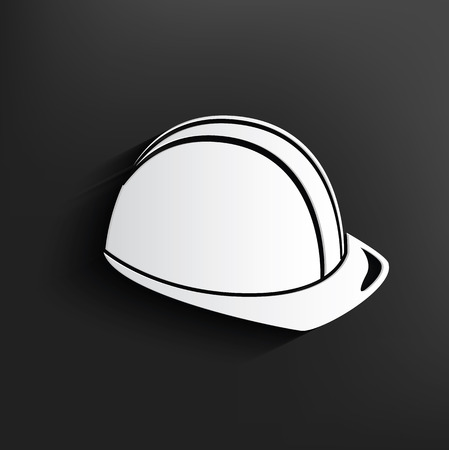 Safety symbol on background,clean vector Vector