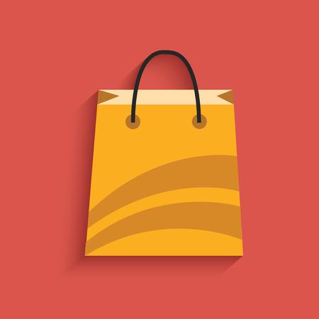 Winkelen design, schone vector Stock Illustratie