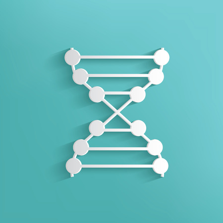 enzyme: Enzyme symbol on blue background,clean vector