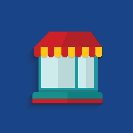Shop design,clean vector Vector