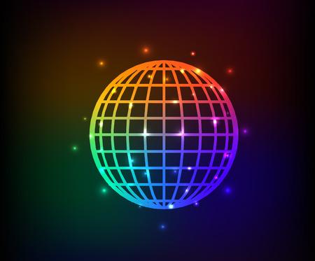 Global design,rainbow vector Vector