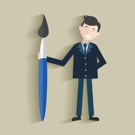 Design,Human resource,Businessman design,clean vector