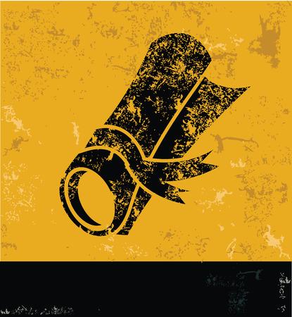 debenture stock: Certificate design on yellow background,yellow vector Illustration