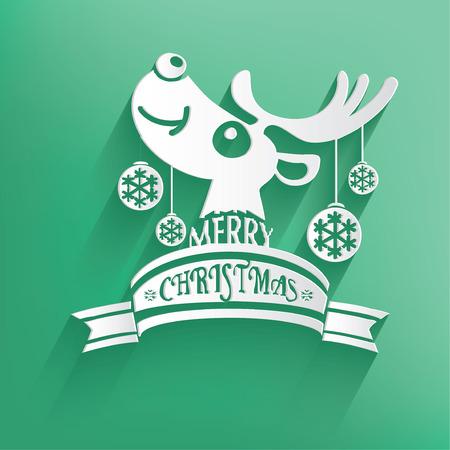 aquifolium: Xmas Design,Happy New Year,Clean vector