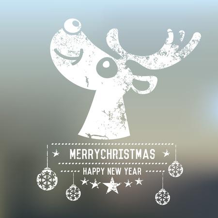 retro christmas: Christmas design,retro vector