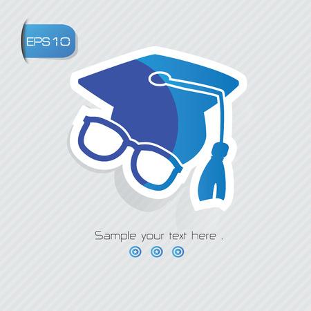 graduation cap: Education symbol