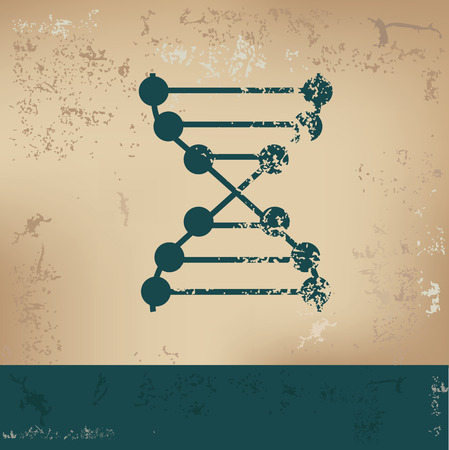 ascorbic: Enzyme design on old paper, grunge vector Illustration
