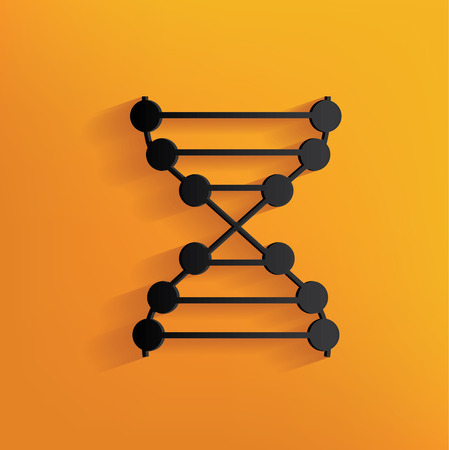 enzyme: Enzyme design on yellow background,clean vector