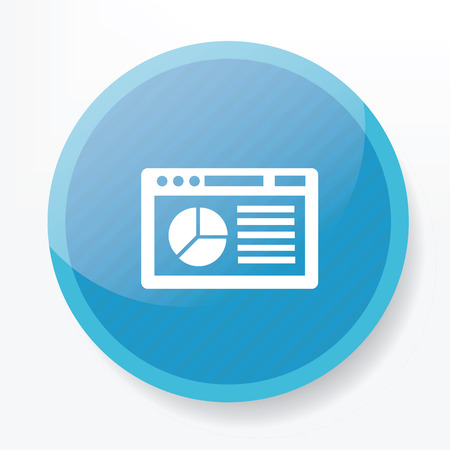 purge: Software icon on blue button
