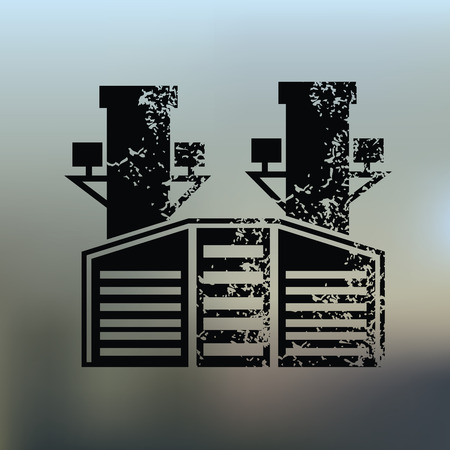 vintagern: Guitar design on blur background,grunge vector