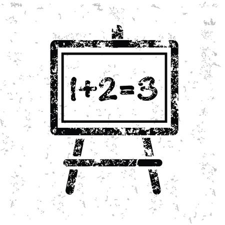 yellowrn: Blackboard design on old paper