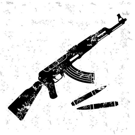 telescopic: Dise�o de armas en el papel viejo