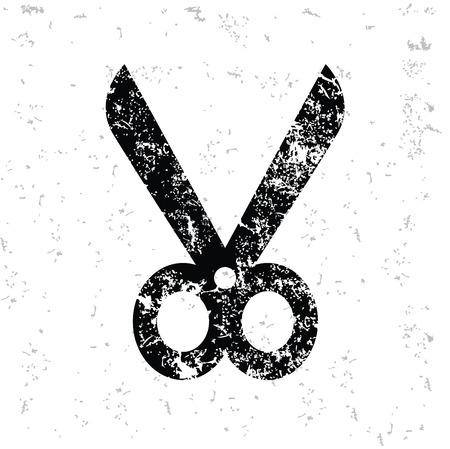 hairstyling: Dise�o de tijera en el papel viejo