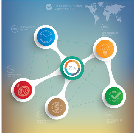vectorrn: Business info graphic design,clean vector
