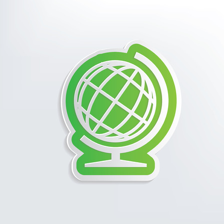 picto: Global design on white background,clean vector