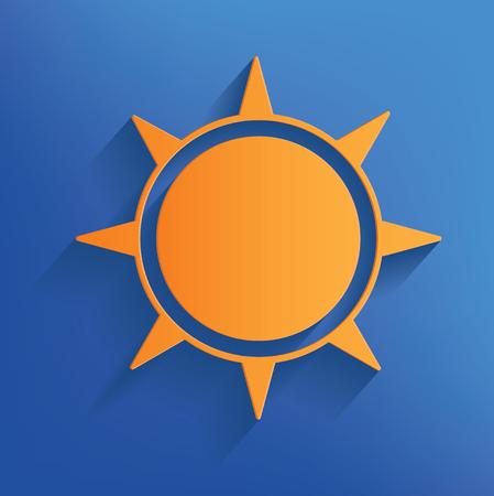 ray of light: Sun design,vector