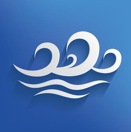 Wave design,vector Stock Photo
