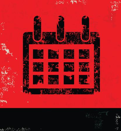 calendar design: Calendar design Stock Photo