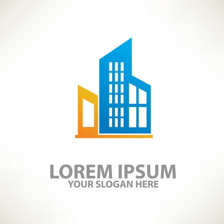 Real estate designlogo templateclean vector Çizim