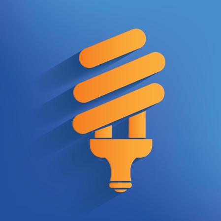 Light design on blue backgroundclean vector Illustration