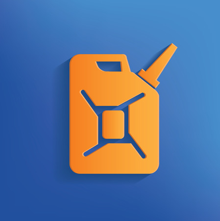 Oil design on blue backgroundclean vector Vector