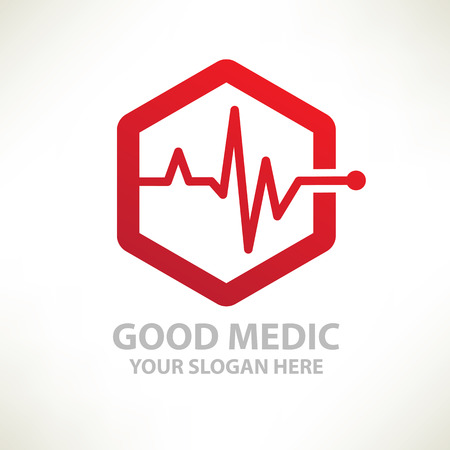 medizin logo: Medical designlogo templateclean vector
