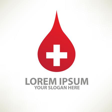 clean artery: Blood design logo template,clean vector Illustration