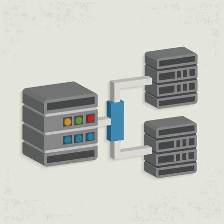data management: Database server design,clean vector