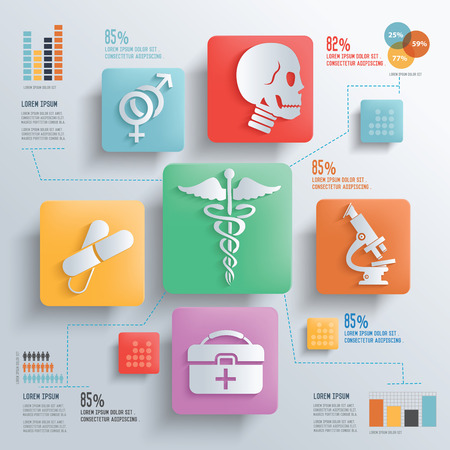 medicament: Medical and healthy care concept design clean backgroundclean vector