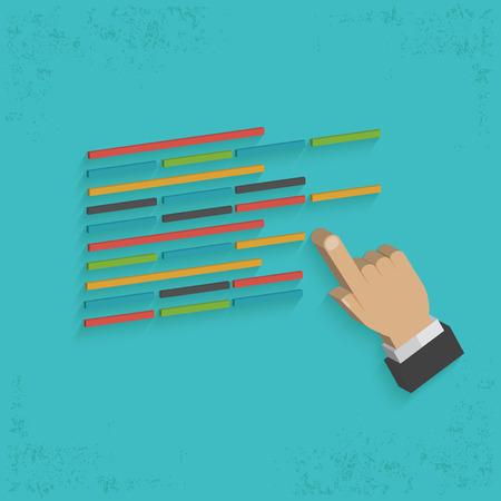 coding: Coding designclean vector Illustration
