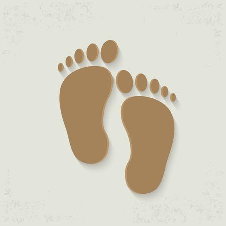 foots: Foots designclean vector