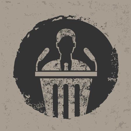 announce: Announce design on grunge backgroundgrunge vector