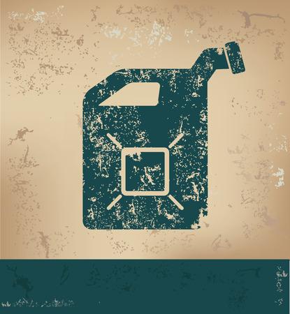 old paper background: Oil design on old paper background,grunge concept,vector Illustration