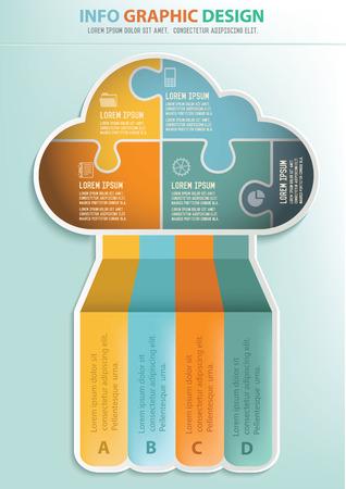 econimics: Cloud,Brochures A4 design,info graphic design,clean vector
