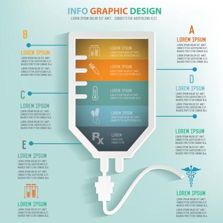 Saline info graphic design, Business concept design. Clean vector.